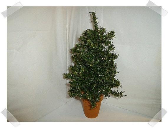 artificial pine tree decoration large w terra cotta pot