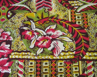 "Hawaii Print Rayon 59"" Wide"