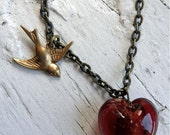 Bird of Love Necklace