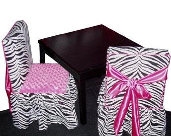 Children's Table and 2 chairs (custom)