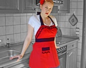 Red Lingerie Inspired Apron