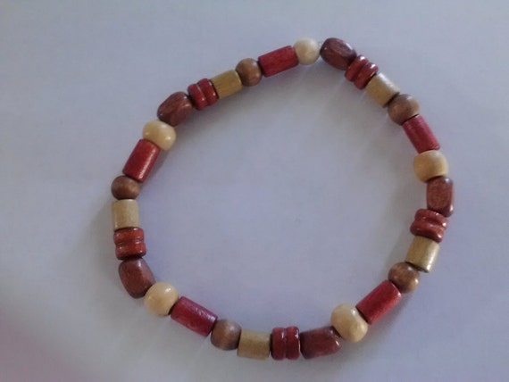 Multicolored Wood Bracelet 3