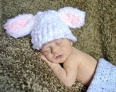 Adorable bunny ear hat great photo porp