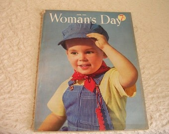 June 1952 Womans Day Magazine