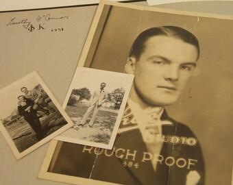 Vintage 1931 The Cardinal Yearbook And Photos Catholic University Washington, DC