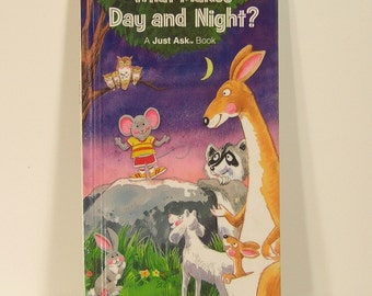 Vintage Book What Makes Day And Night