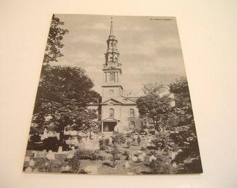 St. Paul's Church Jumbo Postcard