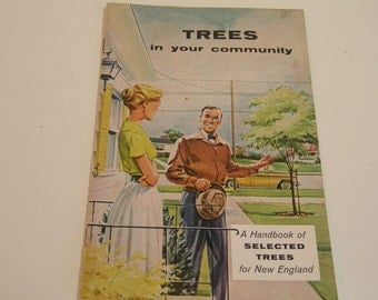 Vintage Booklet Trees In Your Community