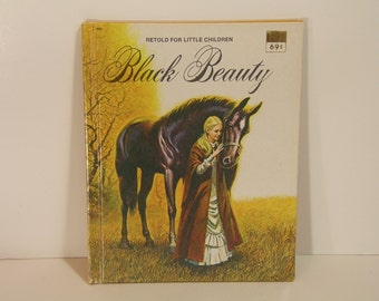 Black Beauty Vintage Children's Book