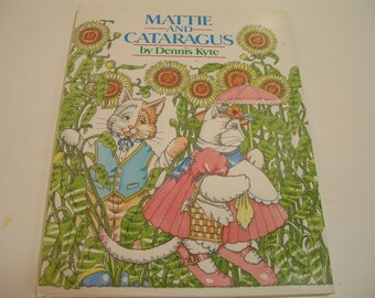 Mattie And Cataragus Vintage Children's Book