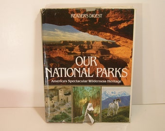 Our National Parks Vintage Book