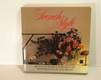 French Style Vintage Decorating Book