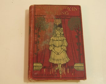 My Little Lady In Waiting Antique Children's Book
