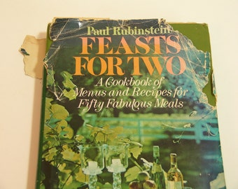 Feasts For Two Vintage Cookbook
