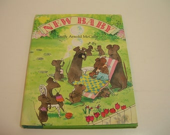 New Baby By Emily Arnold McCully Vintage Childrens Book