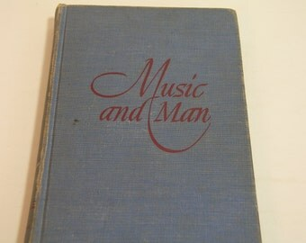 Music And Man Vintage Book