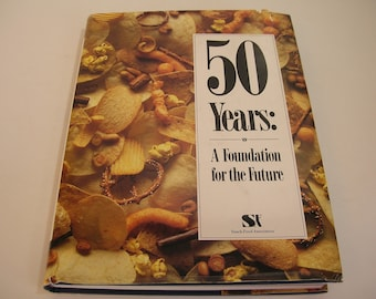 50 Years A Foundation For The Future Vintage Book Snack Food Association