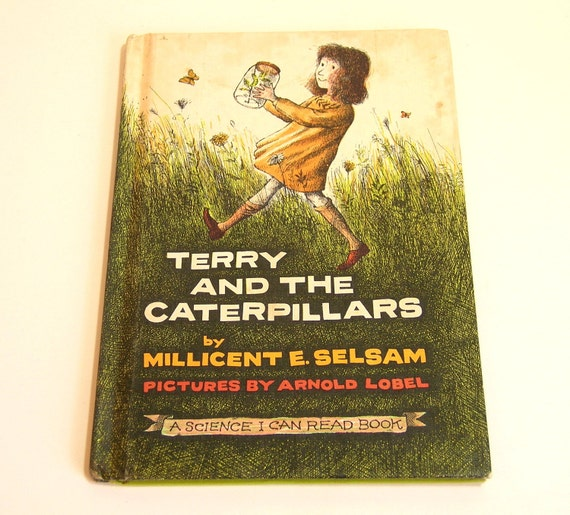 Terry And The Caterpillars By Millicent E. Selsam Vintage Childrens Book