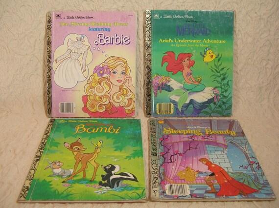 Four Vintage Golden Books