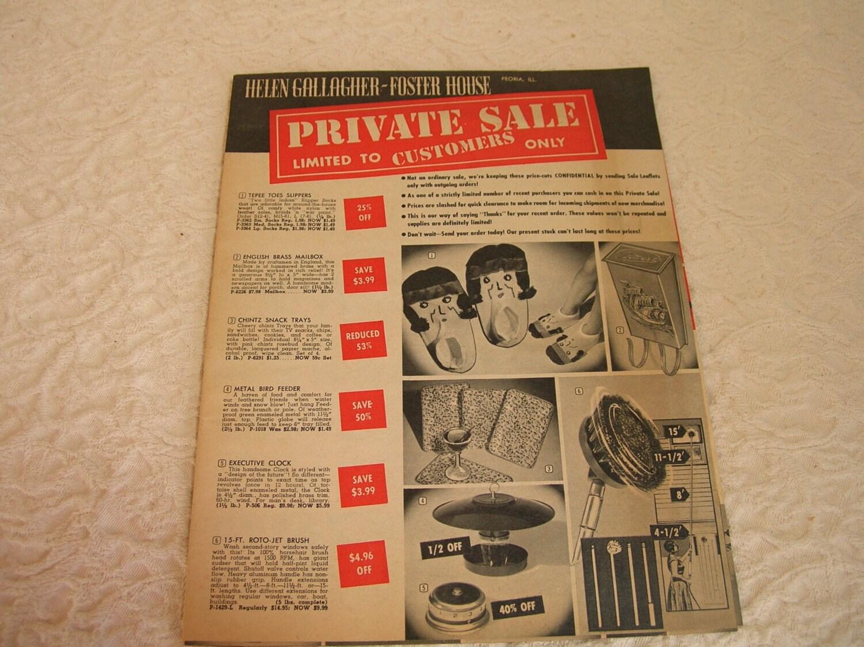 Vintage Mail Order Catalog