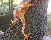 Copper Frog climbing right