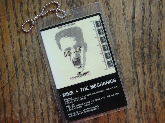 Mike The Mechanics Cassette Keychain-Tag