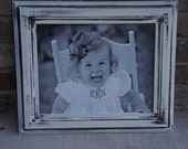 "Ready to Ship: 11x14"" Distressed Antique Country Picture Frame"