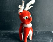 Vintage Dream Pets  Red Reindeer Doll Toys of Christmas Past