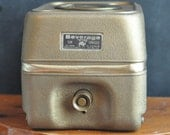 Vintage Car Cooler Golden Drink Dispenser Retro Camping