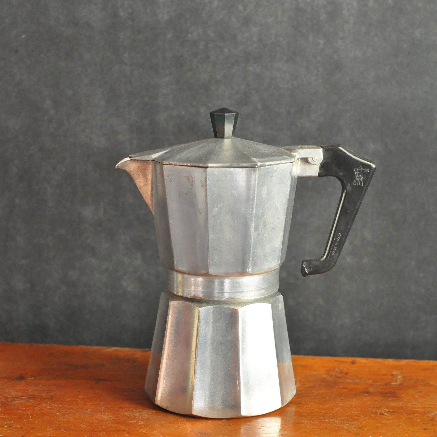 How To Use Vintage Coffee Maker : Vintage Italian Stovetop Coffee Espresso Maker by drowsySwords