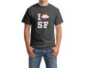 I Foggy Heart SF t-shirt
