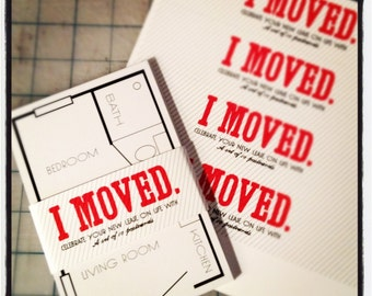 New Apartment Announcements - Set of 10