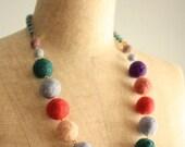Pastel garden necklace- CUSTOM MADE for Reiko