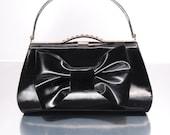 Latex Bow Handbag