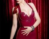 Spikey Latex Glam Dress