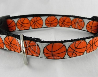 Basketball Dog Collar