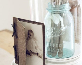 Vintage Baby Cabinet Card-Photograph