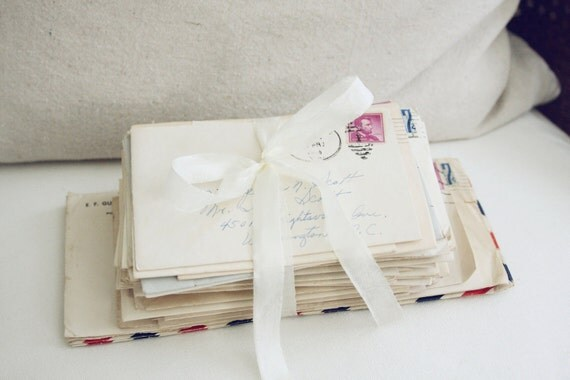 HOLD FOR LYNDAL-50 Vintage Letters-1960's with Original Postage to a Miss Jessie Scott