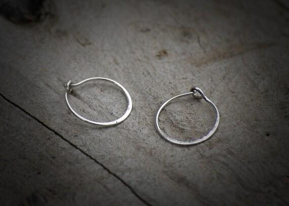 Rustic Sleeper Earrings