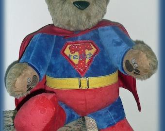 Super Teddy SuperHero TeddyBear