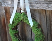 RESERVED LISTING for jb0017-- 10 inch Mossy Woodland Wreath