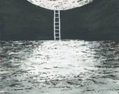 Distance of the Moon // Fine Art Print