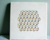 Cubic Tessellation Embroidery