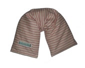 Heating Pad, Microwave Neck Wrap  W/ REMOVABLE COVER, Hot and Cold Therapy - French Ticking
