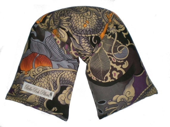 Microwave Heating Pad ,Therapy  Neck Wrap W/ REMOVABLE COVER -Tatsu/tattoo
