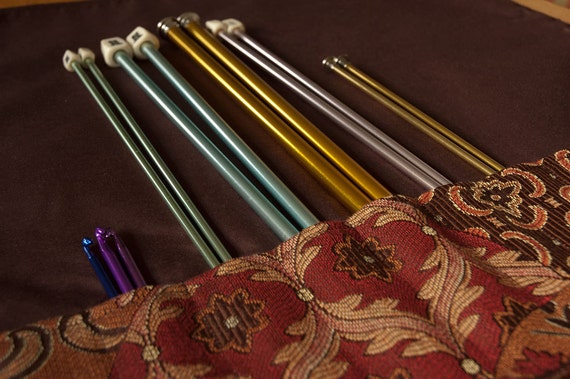Artist's Carrying Case for Knitting Needles, Brushes, Pencils