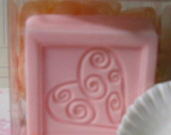 Plumeria Soap and Scrubbie