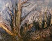 50% OFF, JUNE50 Grove, Original oil painting by Kayde E. Kaiser