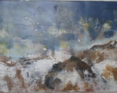 Front, Original Encaustic Painting by Kayde E. Kaiser