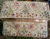 Vintage 1957 Rare Ornate Original Marketa Handbag Clutch